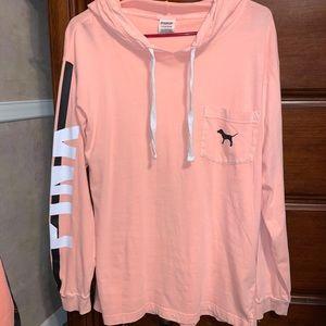 Victoria's Secret PINK Long Sleeve Hoodie - Size S